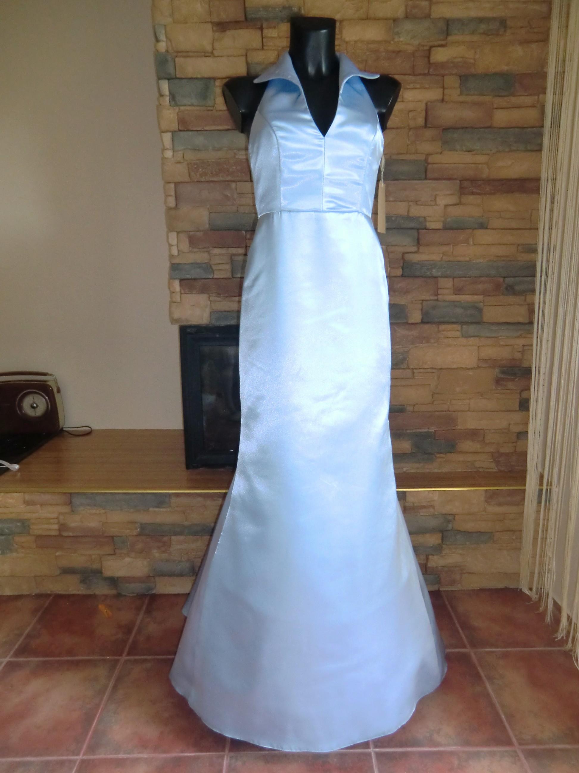 společenské šaty světle modré empty 870542a88d