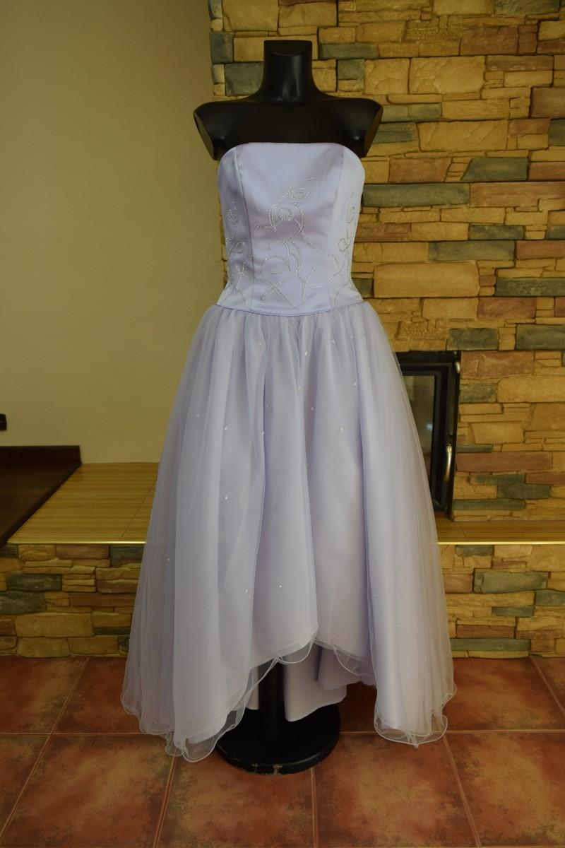 0e5609e25684 nové fialové společenské šaty